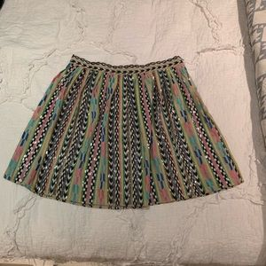 Parker Beaded and Embroidered Skirt